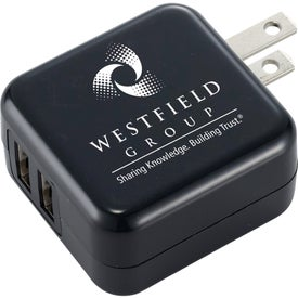 Dual USB AC Adaptor (UL Listed)