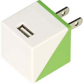 UL Listed Diagonal AC Adapter
