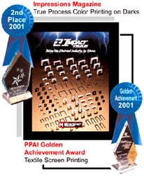 PPAI Golden Achievement Award 2001