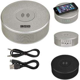 Orbit Alarm Clock Speaker and Power Bank