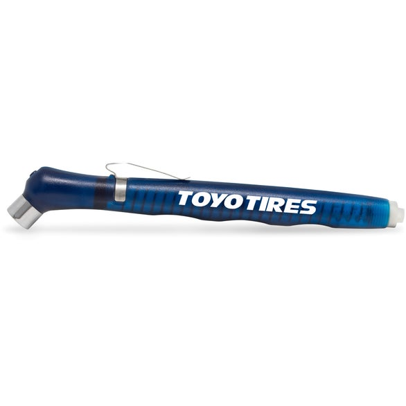 Blue Budget Tire Gauge