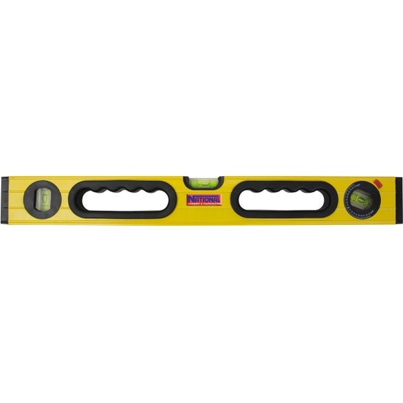 Yellow / Black Aluminum Level with Magnet