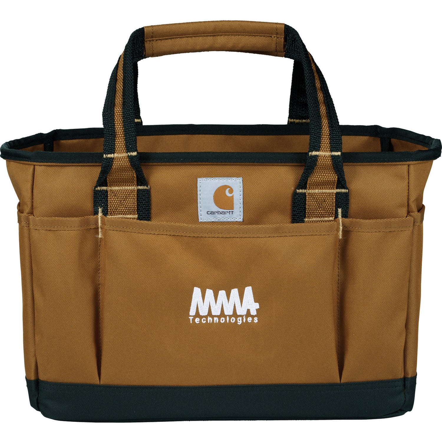 Brown Carhartt Signature Utility Tool Tote Bag For Advertising
