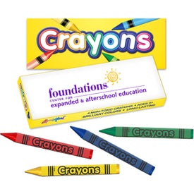 4 Color Crayon Box