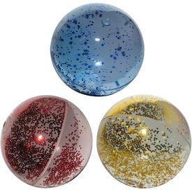 High Bounce Glitter Ball
