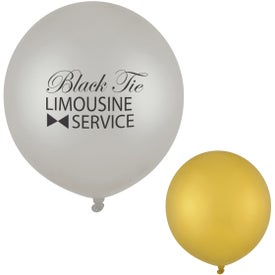 Metallic Tuf-Tex Balloon