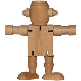 Mini Wood Robot