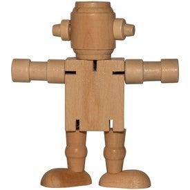 Mini Wood Robot