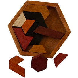 Wood Hexagon Puzzle
