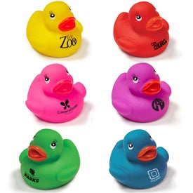"Colorful Rubber Duck (2"")"