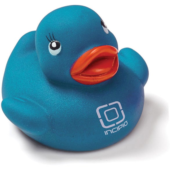 Blue Colorful Rubber Duck