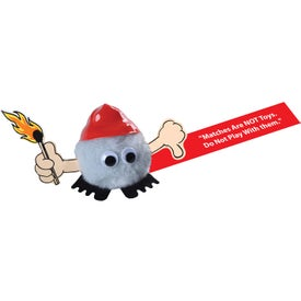 Firefighter Weepul Holding Match with Thumbs Down