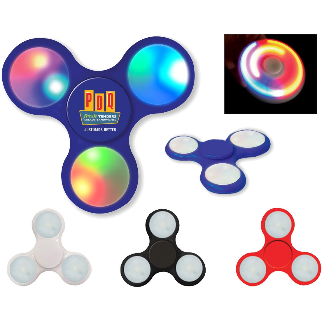 Light-Up LED Fun Spinner