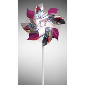 Mylar Pinwheels with 8 Straight Propellers
