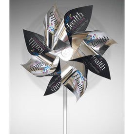 Mylar Pinwheels with 8 Propellers