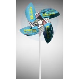 Mylar Pinwheels with 4 Straight Propellers