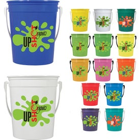 Pail with Handle (32 Oz.)