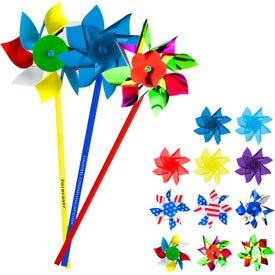 "Pinwheels with 4"" Rotor"