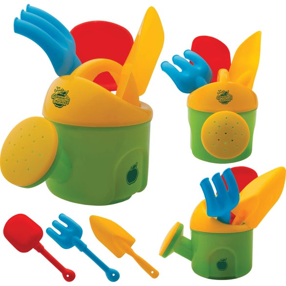 Green / Yellow Toy Gardening Kit