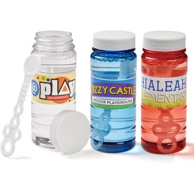 Translucent Bubble Bottle (4 Oz.)