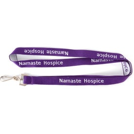 Woven Neck Lanyard Imprinted with Your Logo