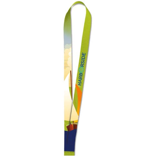 Polyester 4 Color Lanyard