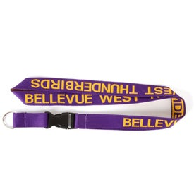 Woven Neck Lanyard with Your Logo