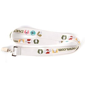 Dye Sublimation Neck Lanyard for your School
