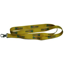Dye Sublimation Neck Lanyard Imprinted with Your Logo
