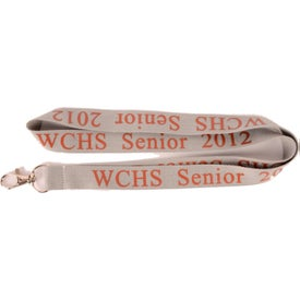 Polyester Neck Lanyard Imprinted with Your Logo