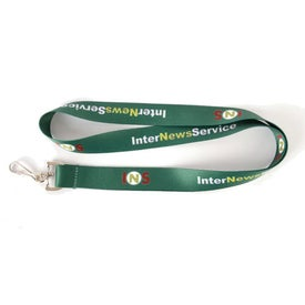 "Dye Sublimation Neck Lanyard (0.75"")"