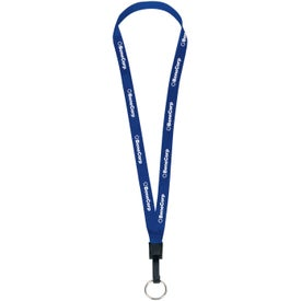 1/2 Inch Lanyard with Keyring for Marketing