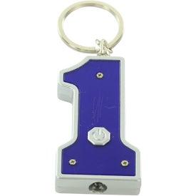 Company #1 Shape LED Key Chain