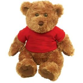 "Branded Plush 10"" Traditional Bear"