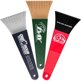 "Logo 10"" Polar Ice Scraper - Recycled"