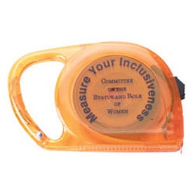 Monogrammed 10 Ft. Carabiner Tape Measure