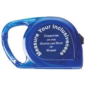 Promotional 10 Ft. Carabiner Tape Measure
