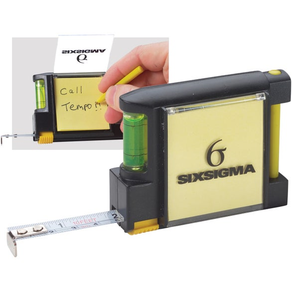 10 FT. Tape Measure Level Notepad Pen