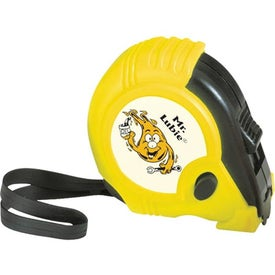 10' Rubber Tape Measure with Your Slogan