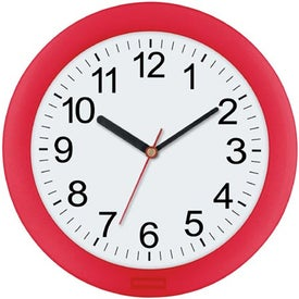 "10"" Translucent Wall Clock Giveaways"