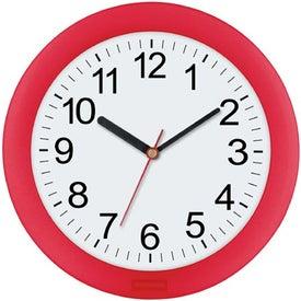 "10"" Translucent Wall Clock Giveaways"