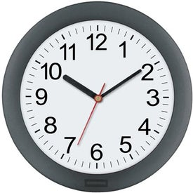 """10"""" Translucent Wall Clock with Your Logo"""