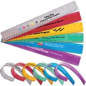 """Printed 12"""" Flexible Ruler"""