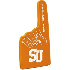 """Logo 12"""" #1 Foam Hand"""