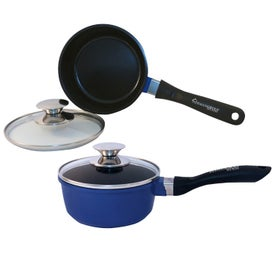 1.25 Quart Ceramic Sauce Pan with Lid