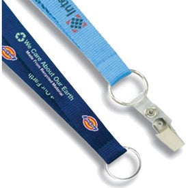 "Branded 1/2"" Environmentally Friendly Lanyard"