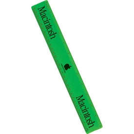"12"" Executive Plastic Ruler Giveaways"