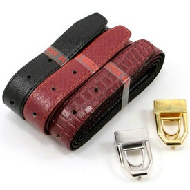 Monogrammed 12 In 1 Leather Belt