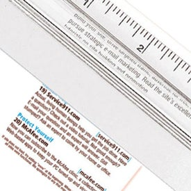 "Advertising 12"" Magnifying Ruler"