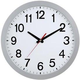 "Advertising 12"" Slim Wall Clock"